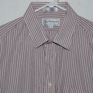 Burberry mens dress shirt size 17 J1067 US made